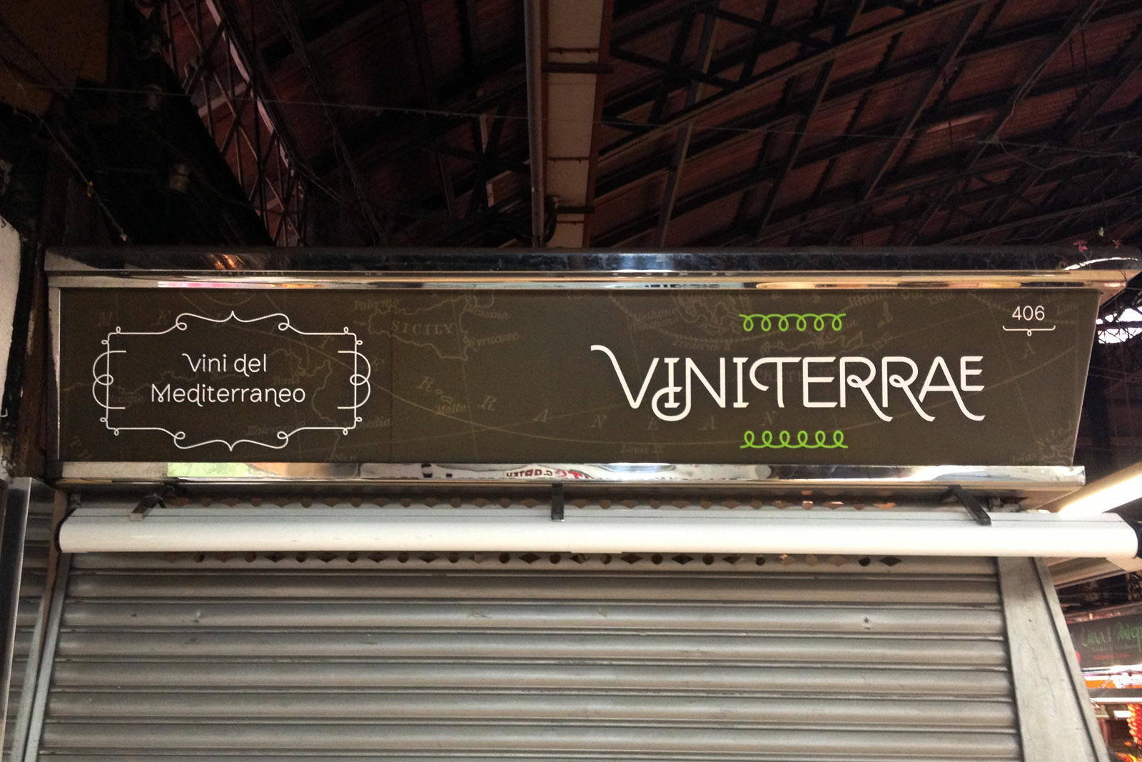 ViniTerrae signboard