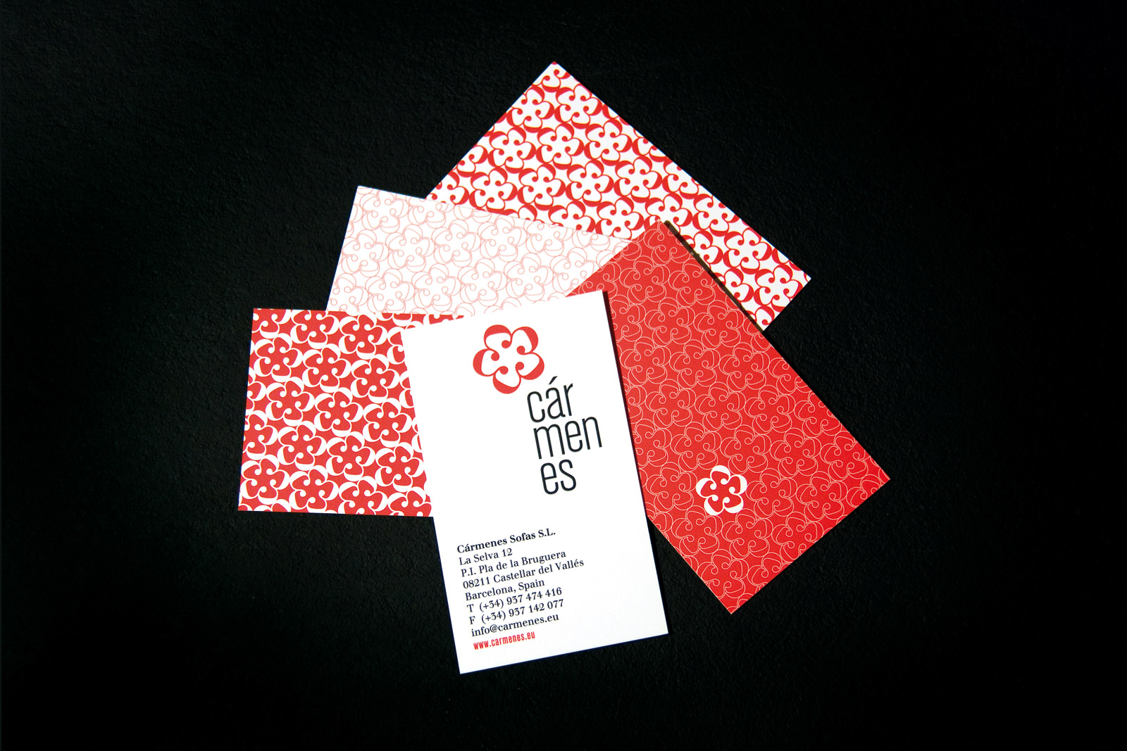 carmenes business cards