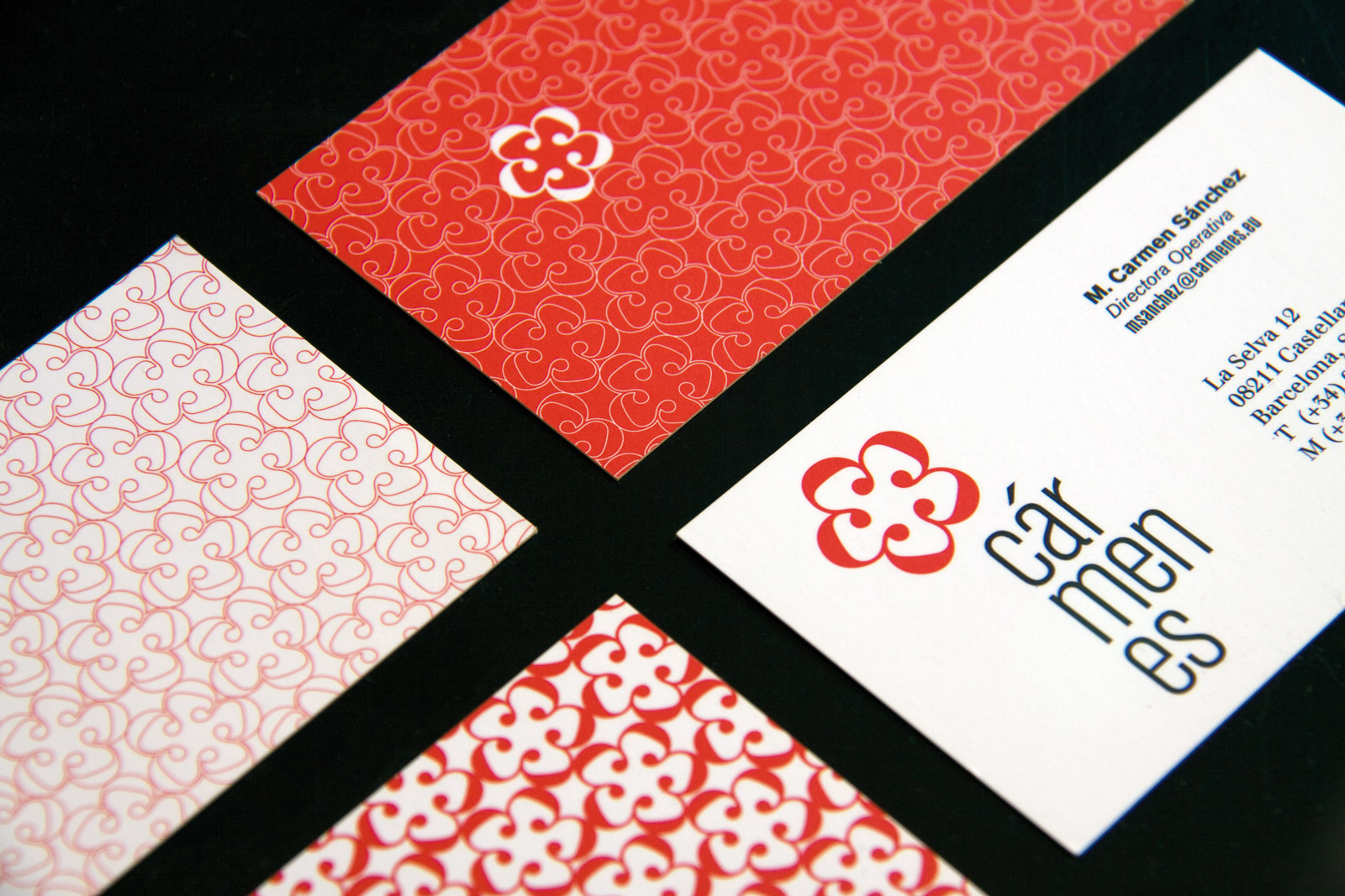 business cards detail
