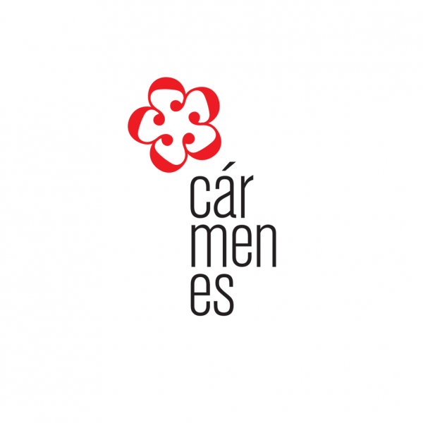 Cármenes logo design and identity
