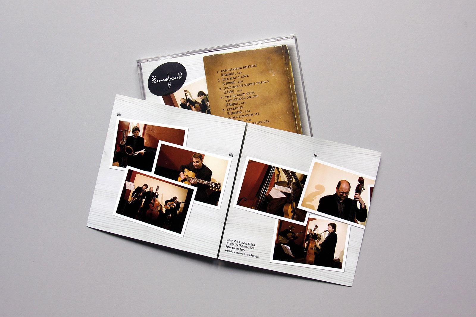 cd leaflet + backcover