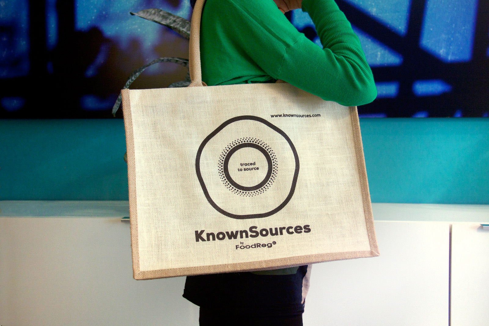 knownsources jute bag