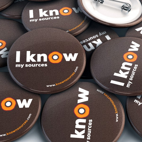 "Visual identity ""Knownsources"" (FoodReg)"