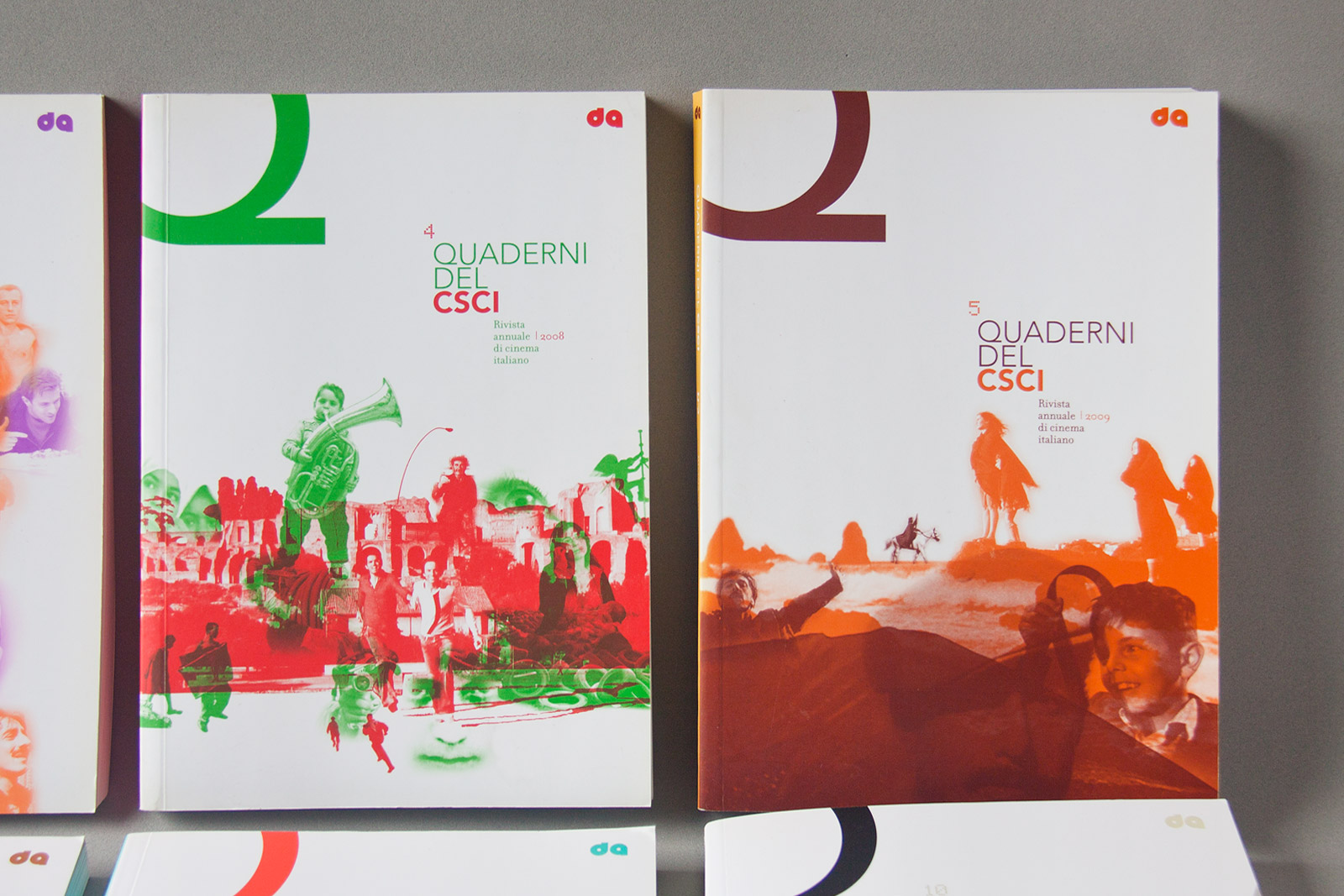 Quaderni del CSCI covers 4&5