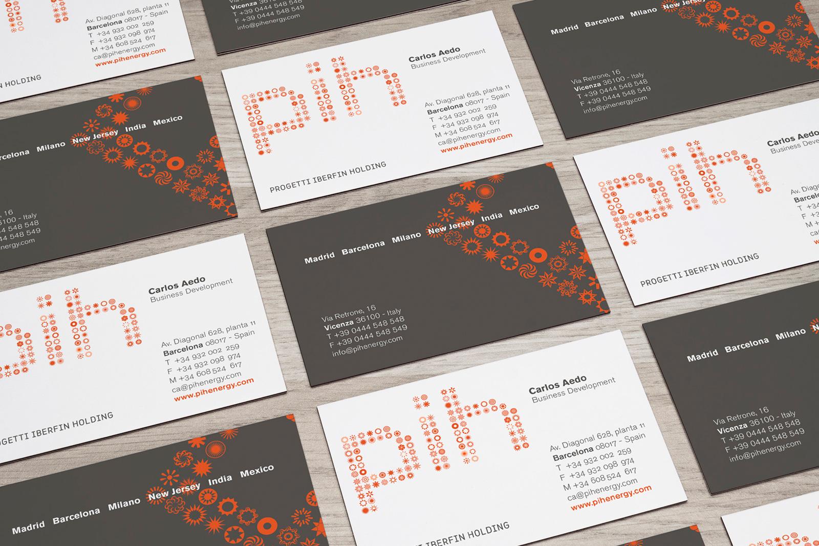 pih business cards