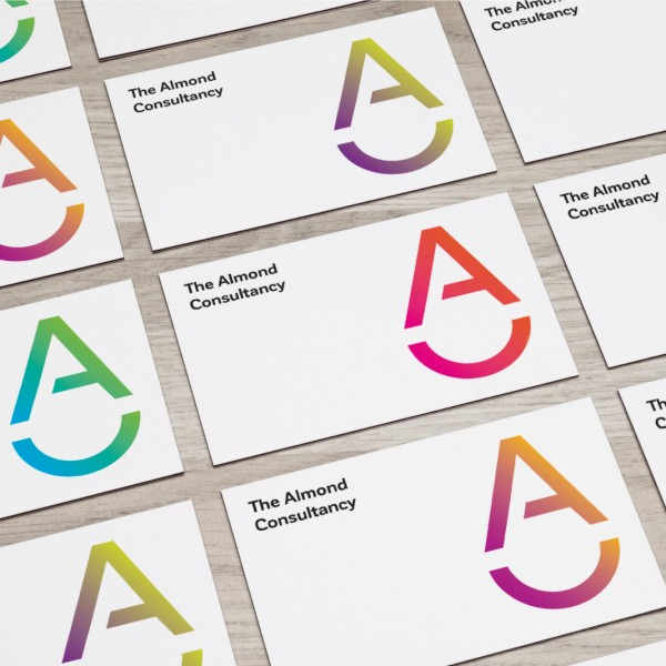 "Logo and visual identity ""The Almond Consultancy"""