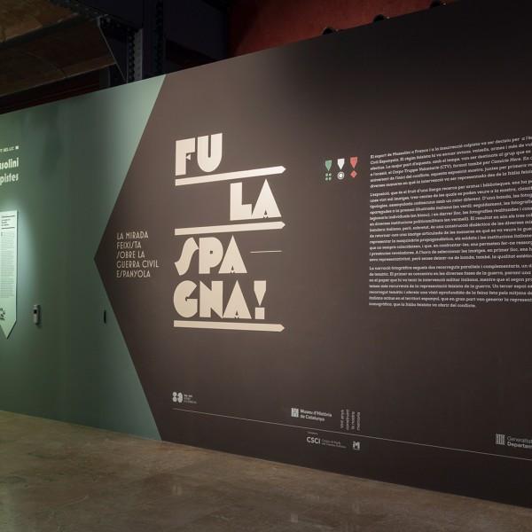 "Exhibition ""Fu la Spagna"" – Museu d'Història de Catalunya"