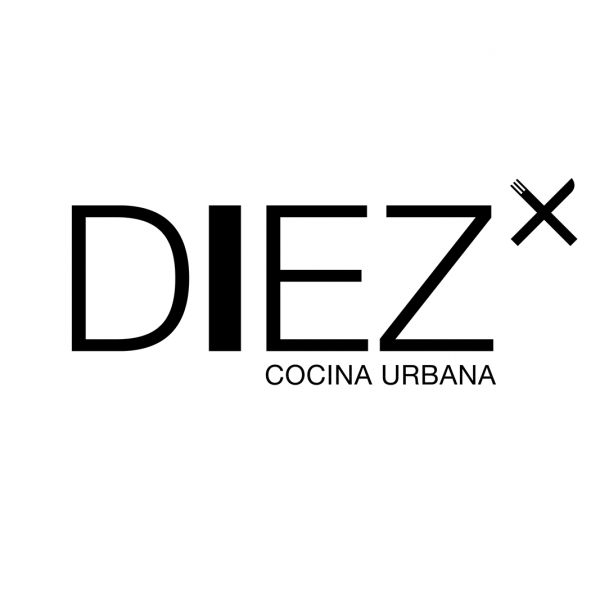 Visual identity for Diez restaurant- Barcelona