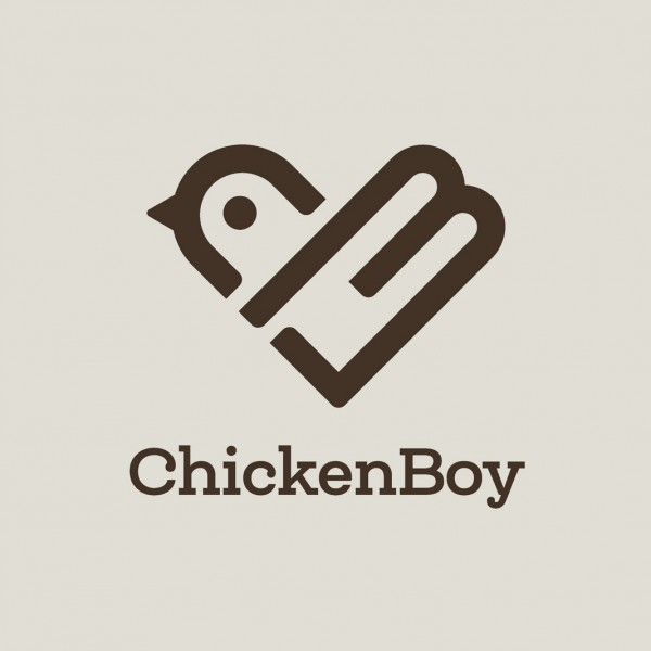 Logotype design for Chicken Boy